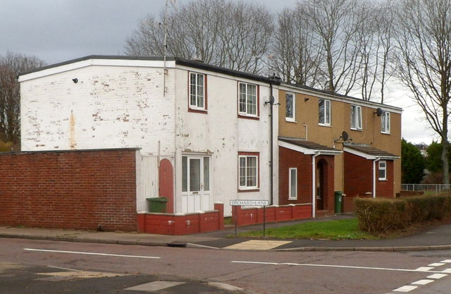 Corner of Trussel Road and Orchard Lane, Cwmbran