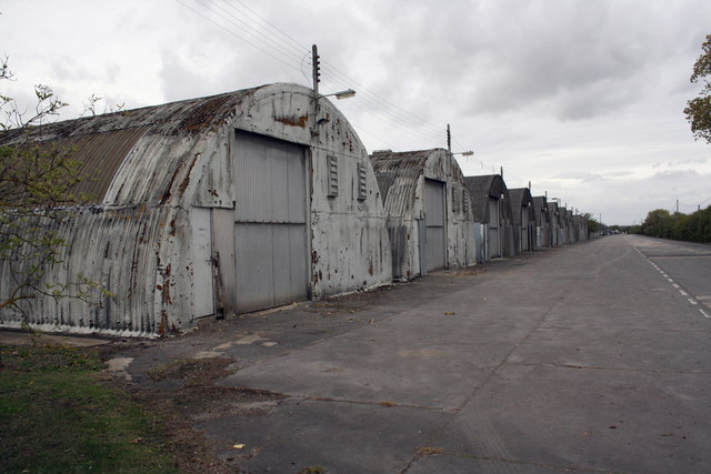 East Drive of the Steventon Storage Facility