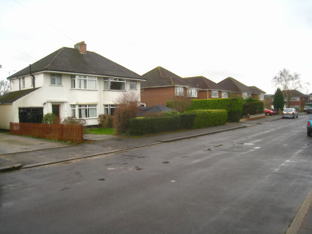 Houses in Cumberland Avenue