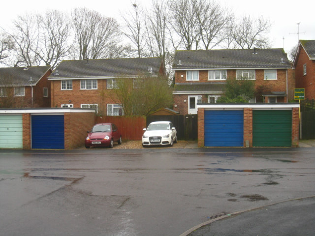 Garages in Delius Close