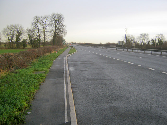 The A1 south of Cromwell