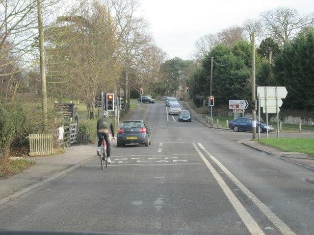 Crossroad at Clifton Hampden