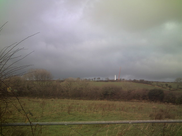 Wind Turbine, Crunwere House, Llanteg