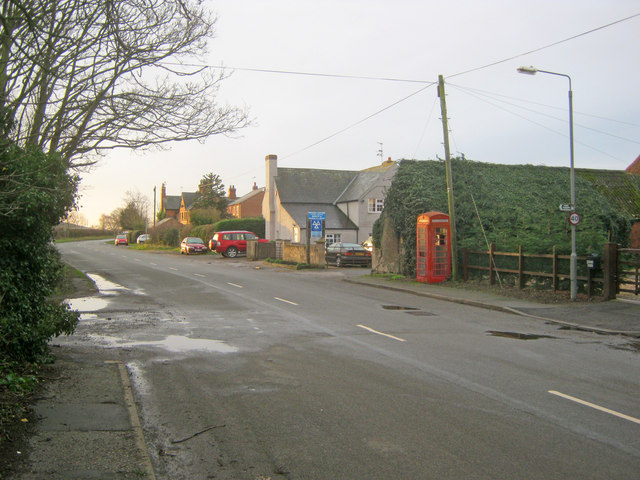 Great North Road at Cromwell
