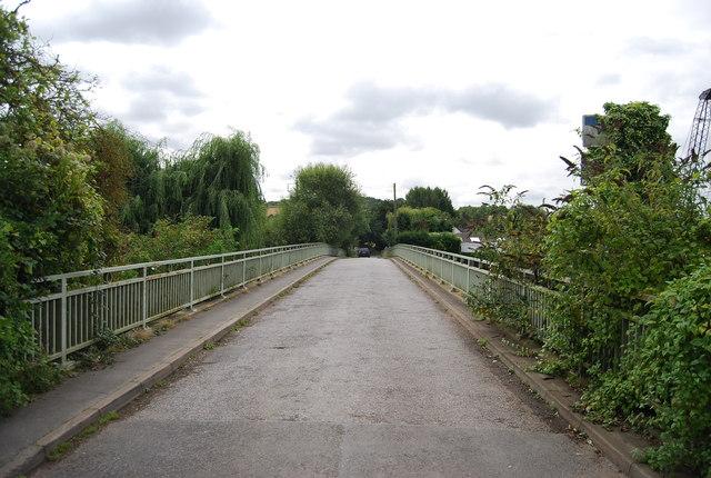Looking across Bow Bridge