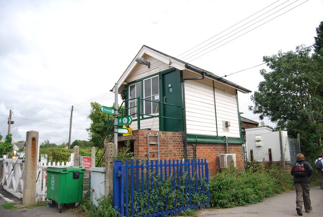 Signalbox, Wateringbury Station