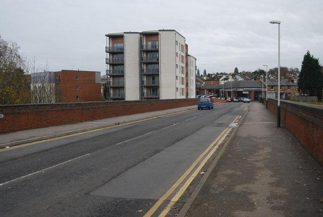 Crossing Grosvenor Bridge