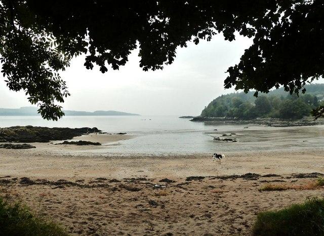 Receding tide at Nun Mill Bay