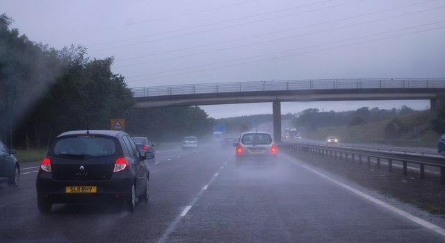 Nouthill access Bridge, A74(M)