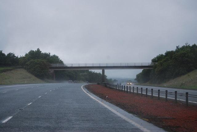 Bridge to Woodhouse Mains, A74(M)