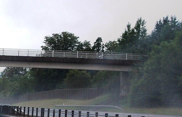 Bridge over the A74(M) near Kirtlebridge