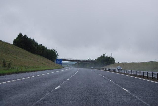 Access Bridge over the A74(M)