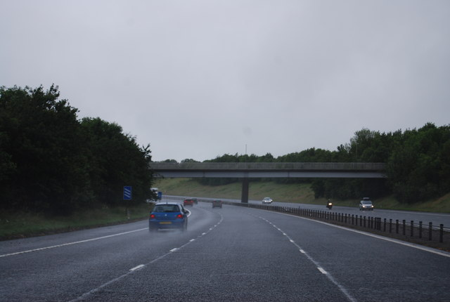 Bridge over the A74(M), Ecclefechan