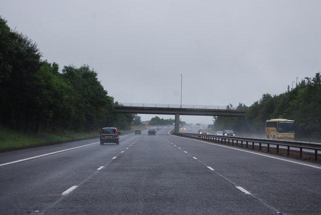 Overbridge, Junction 19, A74(M)