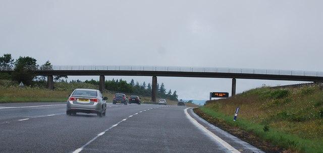 Farm access bridge, A74(M)