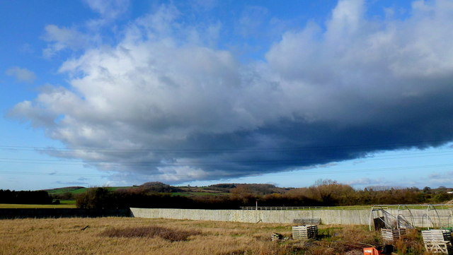 Big sky over Norton Hill