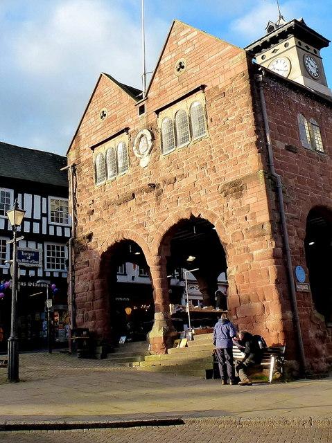 Market house, Ross-on-Wye