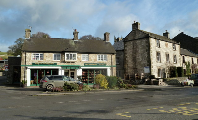 Village scene, Hartington