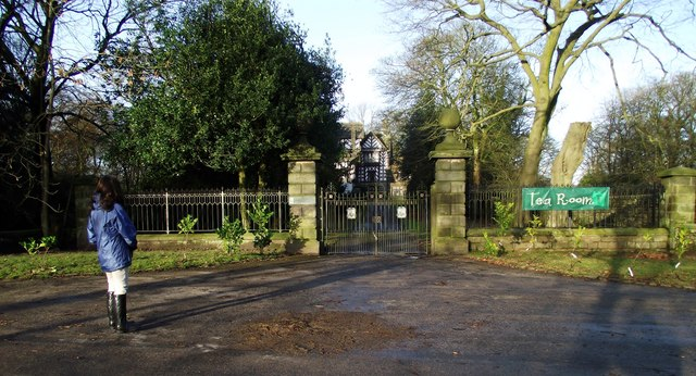 Gates and Drive to Turton Tower
