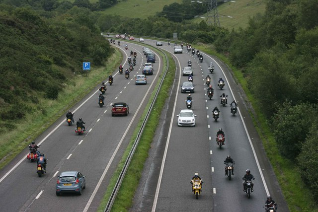 Plymouth Megearide on the A38