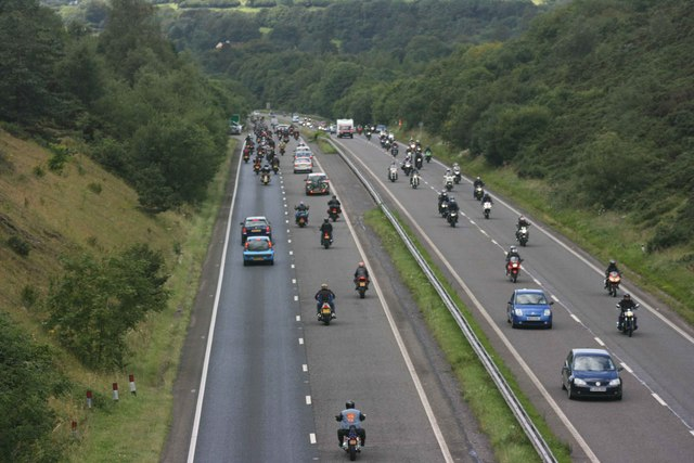 Plymouth Megaride on the A38