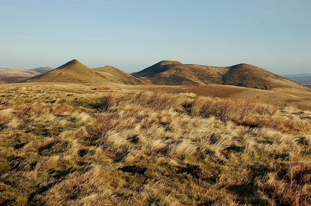 Pentland peaks from Green Law summit