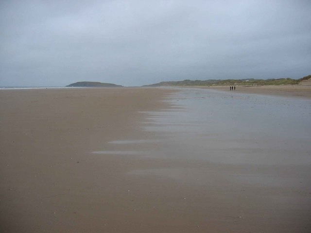 Rhossili Bay and Burry Holms