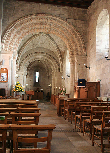 Interior of Dalmeny Kirk