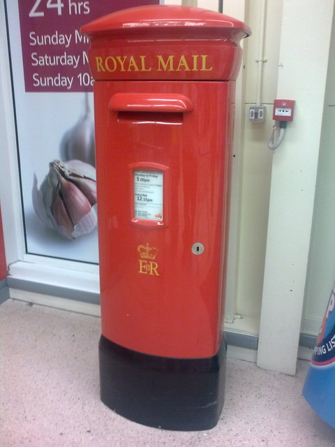 Anson Road Post Office Postbox
