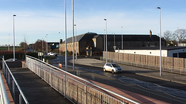 New roundabout, Kelso