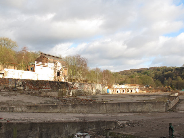 Site of former copper works