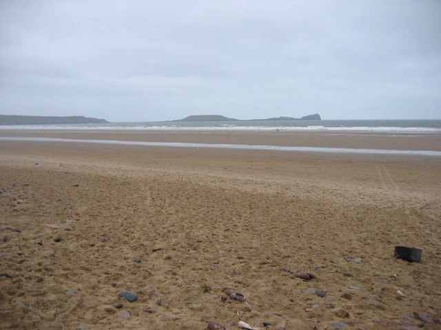 Rhossili Bay and the Worms Head