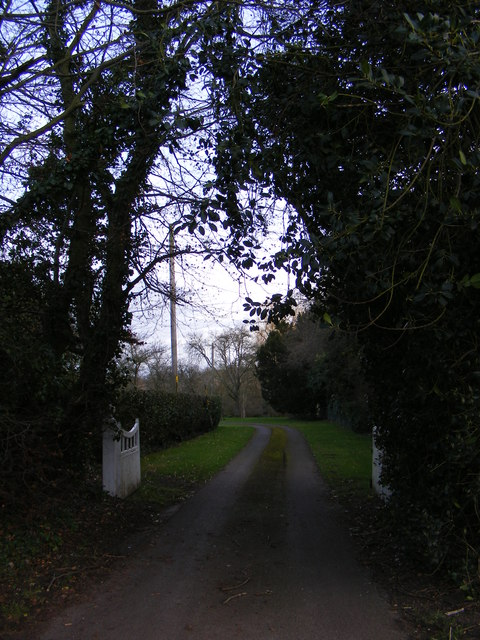 The entrance to The Mill House, Melton