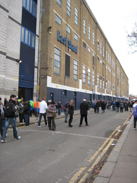 East Stand, White Hart Lane