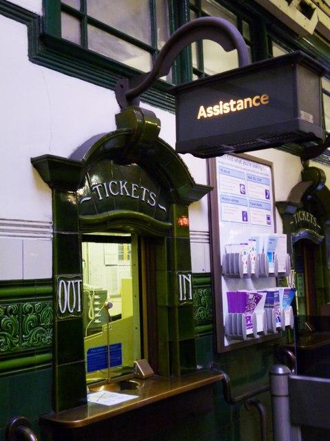 Ticket window, Holloway Road Underground Station, Holloway Road N7