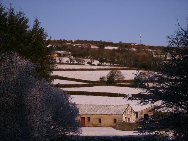 Winter at Pengawse Farm