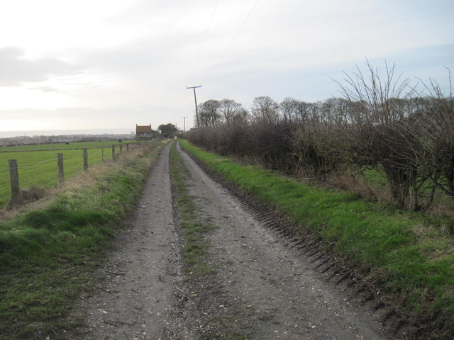 Pinfold  Lane  now  a  Track