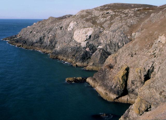 Coastal Headland near St. Mary's Well