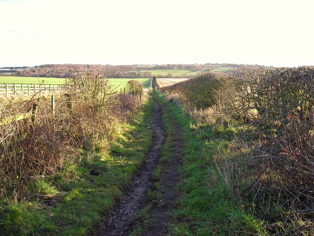 Footpath to Fountain Dale