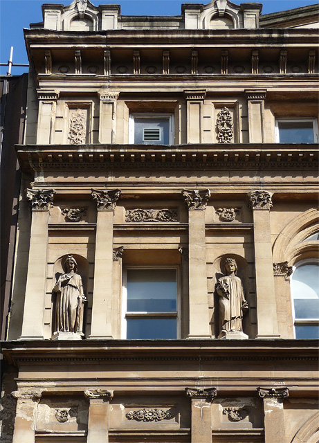 Detail of Waldorf House, Cooper Street, Manchester