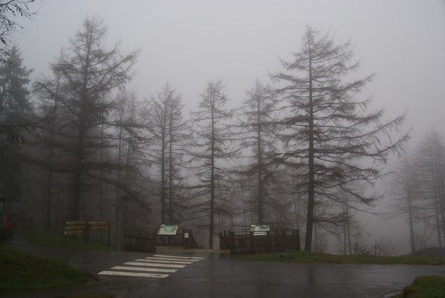 Viewpoint at Nant-yr-Arian