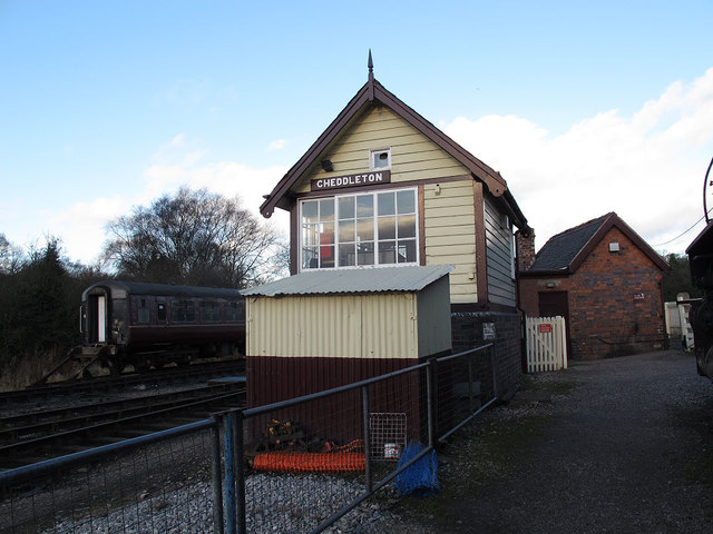 Cheddleton signal box