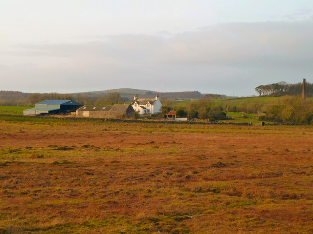 Farm land south of Kirkcowan