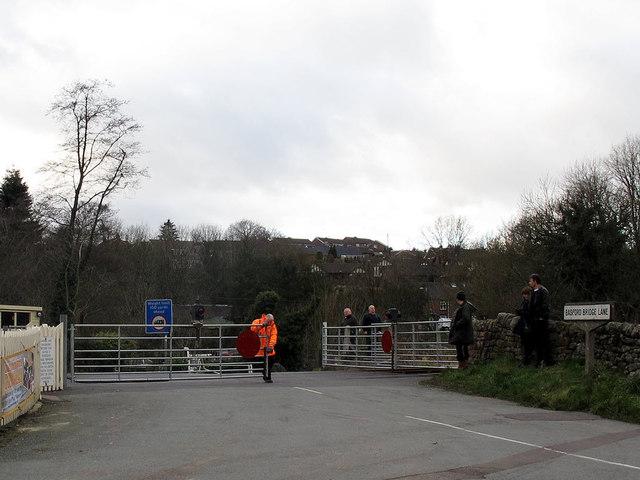 Basford Bridge Lane level crossing
