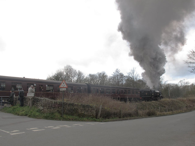 Steaming up the Churnet Valley