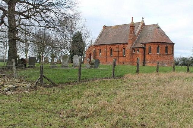 Ex St Nicholas Church, Spanby