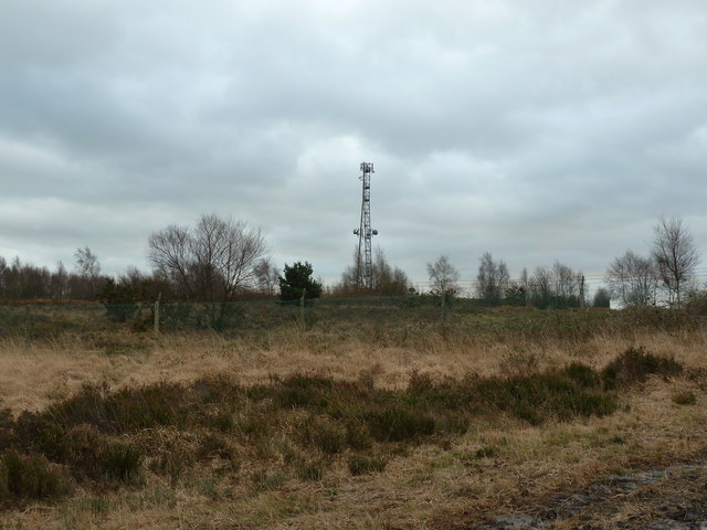Mast at old Radio Station