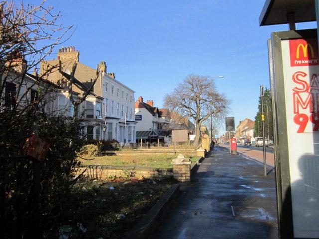 Looking north along Beverley Road, Hull