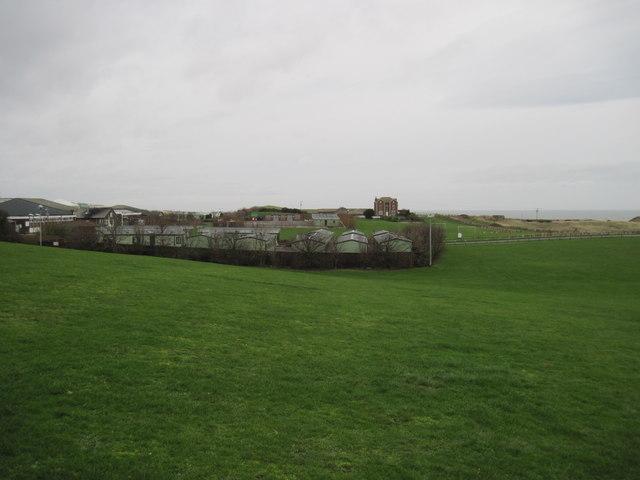 Caravan  Site  and  Thornwick  Farm