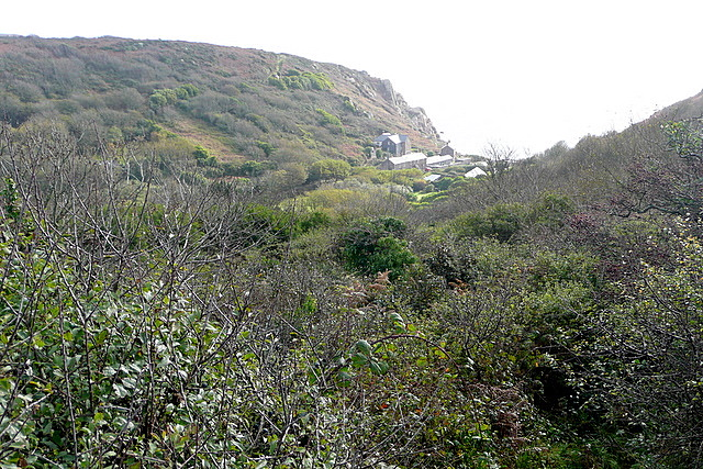 Towards Penberth Cove